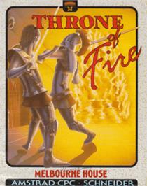 Box cover for Throne of Fire on the Amstrad CPC.