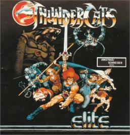 Box cover for Thundercats on the Amstrad CPC.