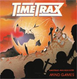Box cover for Time Trax on the Amstrad CPC.