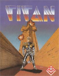 Box cover for Titan on the Amstrad CPC.