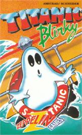 Box cover for Titanic Blinky on the Amstrad CPC.