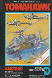 Box cover for Tomahawk on the Amstrad CPC.