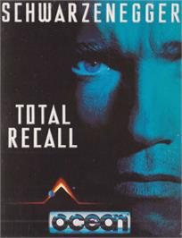 Box cover for Total Recall on the Amstrad CPC.