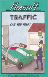 Box cover for Traffic on the Amstrad CPC.