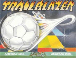 Box cover for Trail Blazer on the Amstrad CPC.