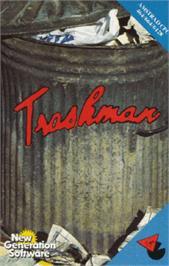 Box cover for Trashman on the Amstrad CPC.