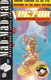 Box cover for Vector Ball on the Amstrad CPC.