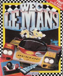 Box cover for WEC Le Mans 24 on the Amstrad CPC.