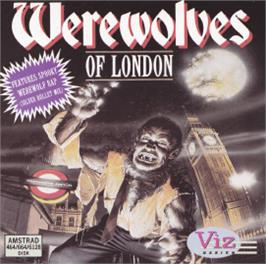 Box cover for Werewolves of London on the Amstrad CPC.