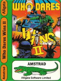Box cover for Who Dares Wins 2 on the Amstrad CPC.