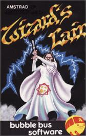 Box cover for Wizard's Lair on the Amstrad CPC.