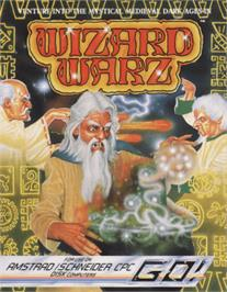 Box cover for Wizard Warz on the Amstrad CPC.