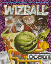 Box cover for Wizball on the Amstrad CPC.