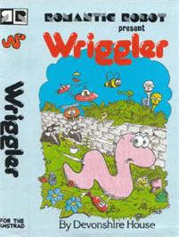Box cover for Wriggler on the Amstrad CPC.