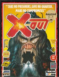 Box cover for X-Out on the Amstrad CPC.