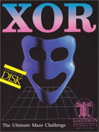 Box cover for Xor on the Amstrad CPC.