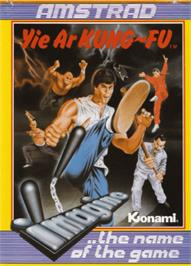 Box cover for Yie Ar Kung-Fu on the Amstrad CPC.