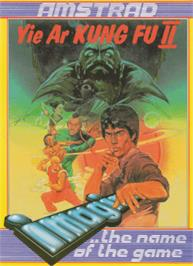 Box cover for Yie Ar Kung-Fu 2 on the Amstrad CPC.