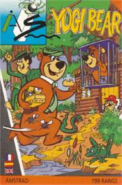 Box cover for Yogi Bear on the Amstrad CPC.