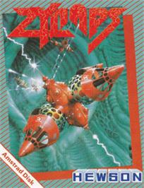 Box cover for Zynaps on the Amstrad CPC.