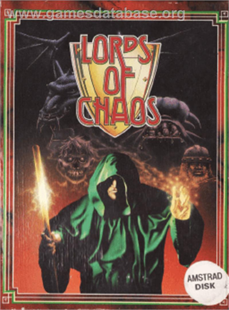 Lords of Chaos - Amstrad CPC - Artwork - Box
