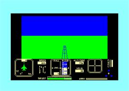 In game image of Fighter Pilot on the Amstrad CPC.