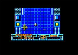 In game image of Marauder on the Amstrad CPC.
