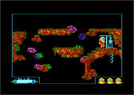 In game image of Pacific on the Amstrad CPC.