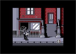 In game image of Prohibition on the Amstrad CPC.