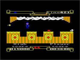 In game image of Punchy on the Amstrad CPC.