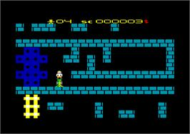 In game image of Saracen on the Amstrad CPC.
