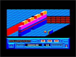 In game image of Spellbreaker on the Amstrad CPC.