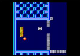 In game image of Titan on the Amstrad CPC.