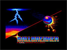 Title screen of Spellbreaker on the Amstrad CPC.