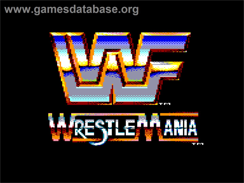WWF Wrestlemania - Amstrad CPC