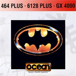 Box cover for Batman on the Amstrad GX4000.