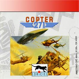 Box cover for Copter 271 on the Amstrad GX4000.