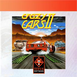 Box cover for Crazy Cars II on the Amstrad GX4000.