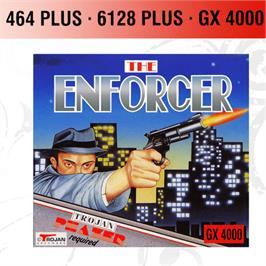 Box cover for Enforcer, The on the Amstrad GX4000.