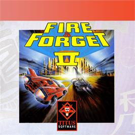 Box cover for Fire And Forget 2 on the Amstrad GX4000.
