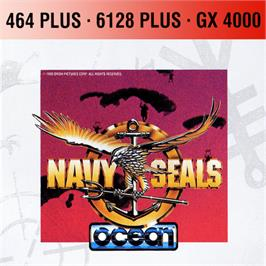 Box cover for Navy Seals on the Amstrad GX4000.