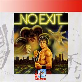 Box cover for No Exit on the Amstrad GX4000.