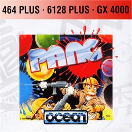 Box cover for Pang on the Amstrad GX4000.