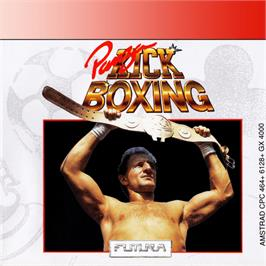 Box cover for Panza Kickboxing on the Amstrad GX4000.
