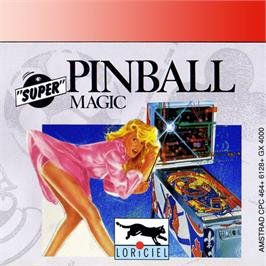 Box cover for Pinball Magic on the Amstrad GX4000.
