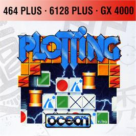Box cover for Plotting on the Amstrad GX4000.