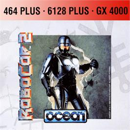 Box cover for Robocop 2 on the Amstrad GX4000.