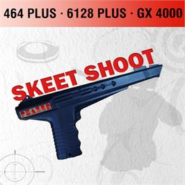 Box cover for Skeet Shoot on the Amstrad GX4000.