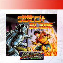 Box cover for Switchblade on the Amstrad GX4000.