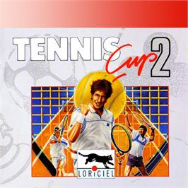 Box cover for Tennis Cup II on the Amstrad GX4000.
